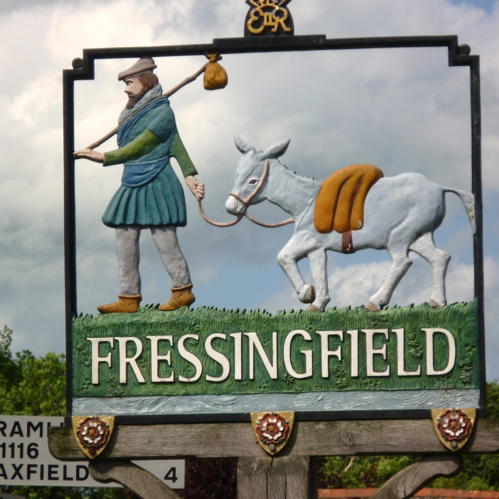 Fressingfield sign