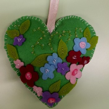 Well done Zoe, winner of our Green Heart competition.