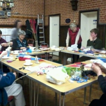 A craft workshop