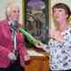 Handover from Elizabeth Lansman, chairman of Suffolk West .....