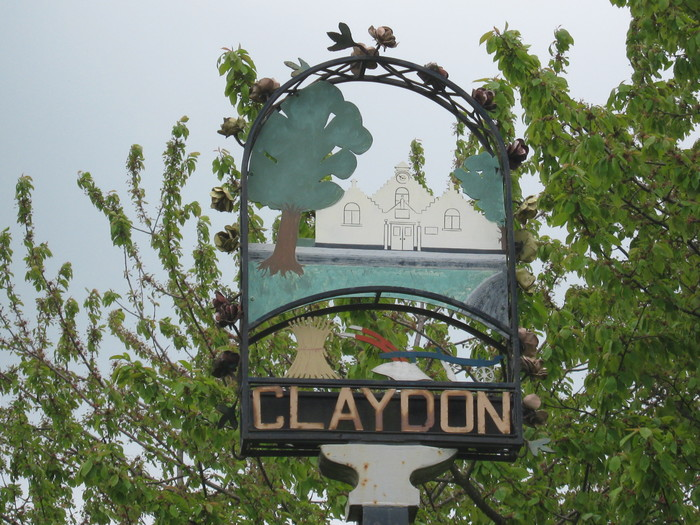 Claydon sign