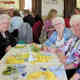 Happy members who had just enjoyed a delicious lunch prepared by members of the CCC committee
