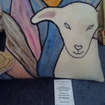 Suffolk Show cushion