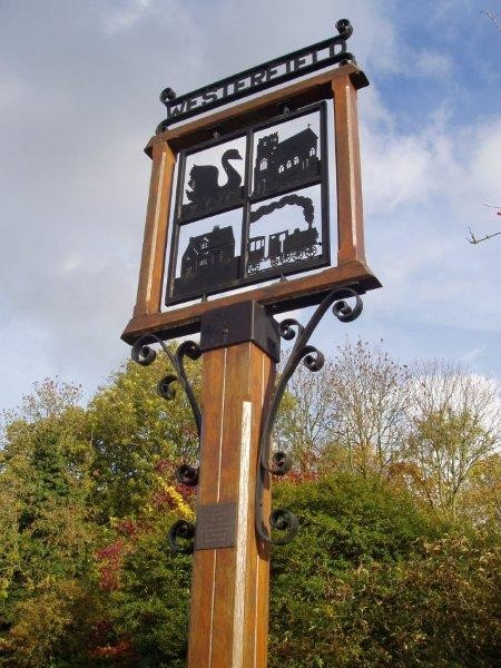 Westerfield village sign