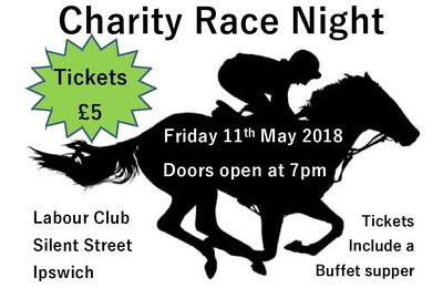 Race night poster small